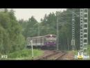 Супер музыкальный танцующий поезд - серьезно реально круто (Прикол ЖД Транспорт