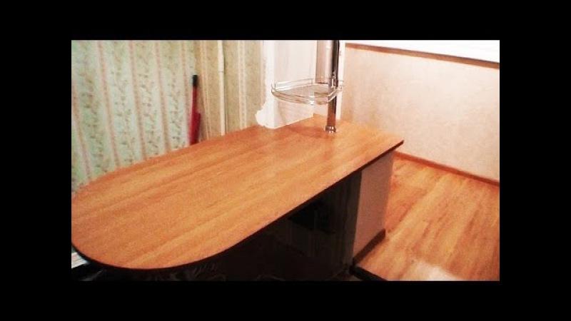 Максимус окна - лоджия совмещенная с кухней, кухня на лоджии