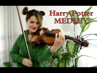 Harry Potter Medley by Seda BAYKARA [violin cover]
