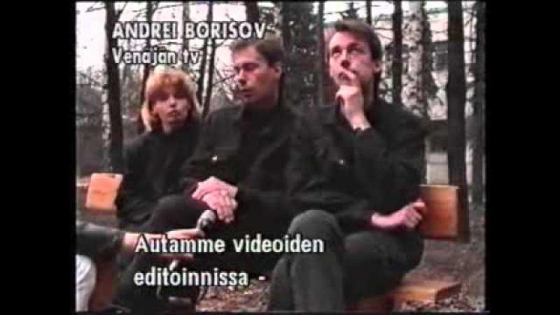 VA Russian industrial music @ YLE TV