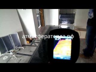 Инфракрасное отопление Heat Plus в загородном доме.