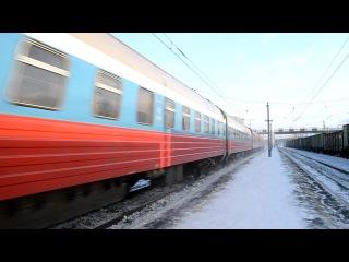 ЭП2К-076 с поездом №001
