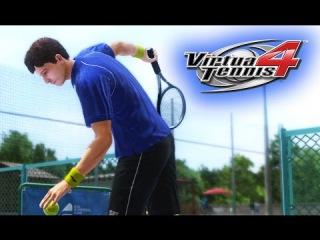 Virtua Tennis 4 - Моя карьера #4 [Пропуск!]