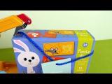Смешарики играют в игру Кто Что Ест. Развивающее видео с игрушками Смешарики