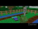 Школа Мобов в Майнкрафт - Все серии подряд [Minecraft Machinima]