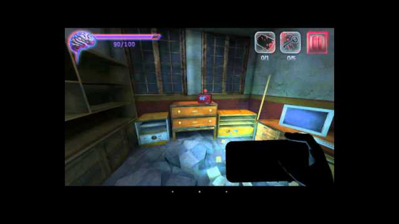 Играю в Slender Man Origins 3 (Android) Очко жим жим