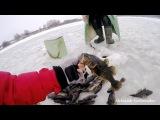 Ловля крупного ротана со льда! Удачная рыбалка!