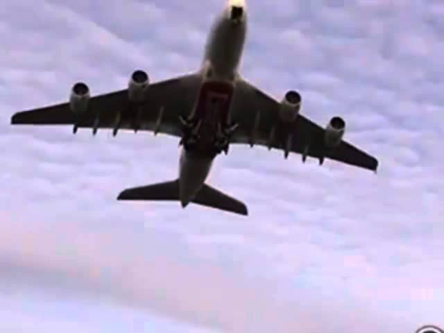 Красивый взлёт самолёта