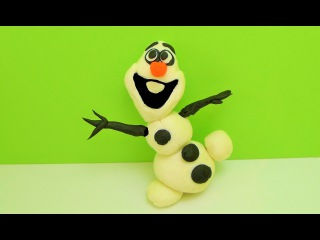 Play Doh Frozen Olaf [Play-Doh TV]