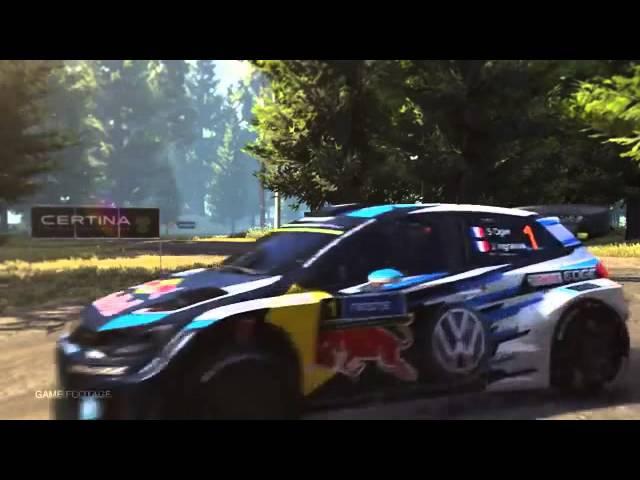 WRC 5 Volkswagen POLO R WRC Trailer PS4 Xbox One PS3 Xbox360 PS Vita PC
