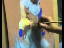 Мастер класс этюд из балетной серии темпера бумага