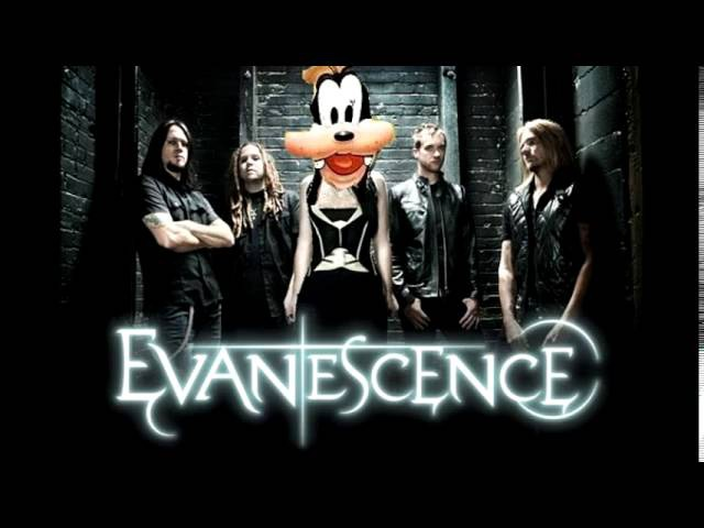 Goofy sings Evanescence's Bring Me to Life
