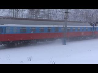 Скорый фирменный поезд №001М РОССИЯ Владивосток-Москва