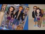 Обзор на Кукол ЭВЕР АФТЕР ХАЙ Рэйвен Квин и Декстер Чарминг На Свидании Ever After High Doll Review