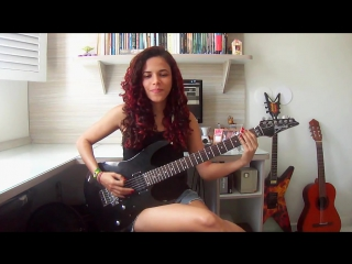 Sepultura - Roots Bloody Roots Guitar Cover (by Noelle dos Anjos)