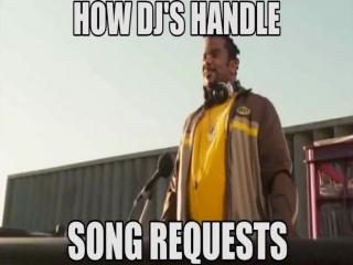 как dj's реагируют на заказ песен