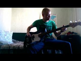 Scott Joplin – The Entertainer bass cover (full)