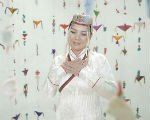 Монголка исполнила калмыцкую песню «Ээҗ мини»