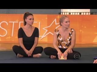 Suzana Pires relembra época de ginasta