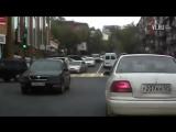 Автомобилистка проехала навстречу потоку на дороге с односторонним движением во