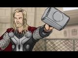 Как следовало закончить фильм Мстители- Эра Альтрона часть 2 (Русская озвучка)