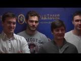 Хоккейная команда «Металлург» - в ресторане-легенде «PARADISE»