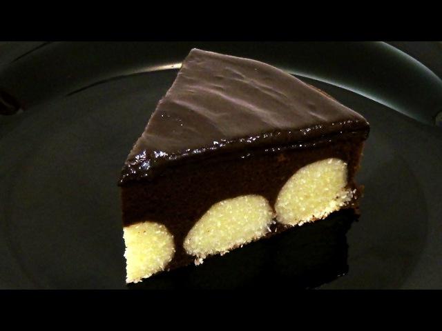 Шоколадный пирог с творожными шариками. Подробный рецепт. » Freewka.com - Смотреть онлайн в хорощем качестве