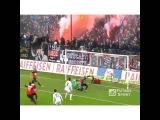 Красивый момент футбола