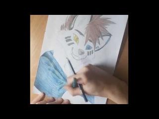 Как рисовать ФУРРИ (GORSHA)2