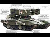 Новейшее оружие России - ТОС-1А