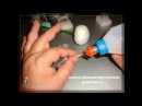 МК по изготовлению пушинок для кукол Одуван цветка одуванчик и мушки от pawy Е Лаврентьева
