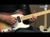Fender Custom Shop P-90 Top Bound Telecaster Electric Guitar Demo - Sweetwater Sound