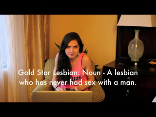 REAL Lesbians React to Lesbian Porn!