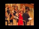 Мария Сафарьянц - Концерт для скрипки с оркестром из цикла Времена года. Дирижер - Хосе Кура.