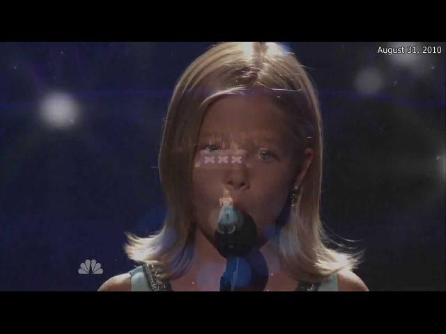 Jackie Evancho Time To Say Goodbye Semi Final America's Got Talent HD