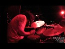 Full of Hell - DAVE BLAND Drum cam - live at Complex 05/01/2015