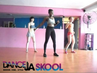 Kimiko's DANCEHALL WORKSHOP with the Russian