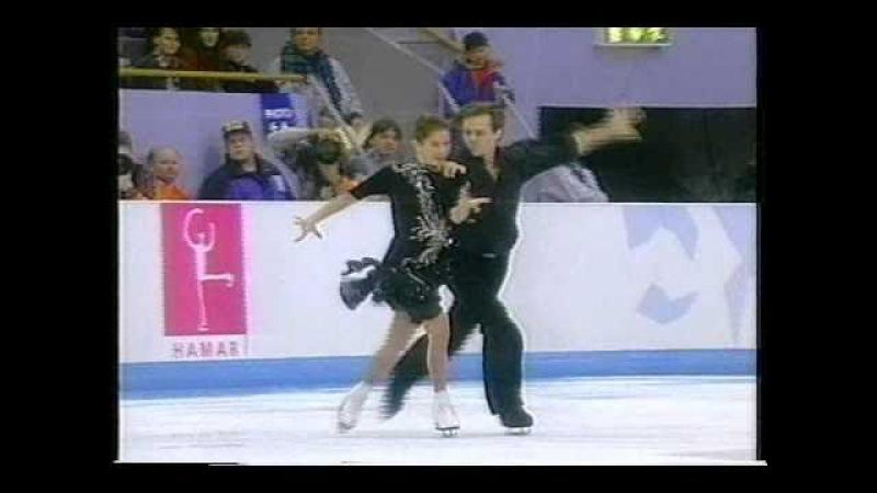 Grishuk Platov RUS 1994 Lillehammer Ice Dancing Original Dance