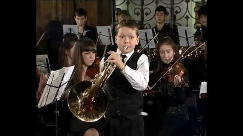 W. Mozart. Concerto for Horn and Orchestra, N 4, Es-dur, р. III