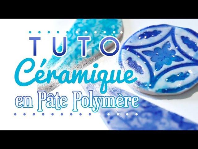 TUTO Imitation Céramique Polymer Clay Faux Ceramic