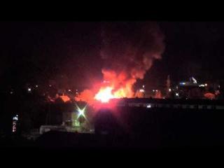 Ночной взрыв и пожар в Тюмени (12 мая 2015года)... Часть - 2.