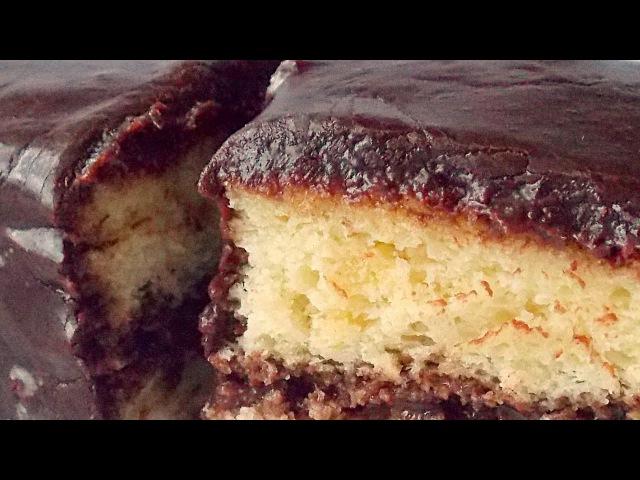 Бисквитные Пирожные «День и Ночь» видео рецепт