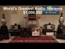 $1 000 000 The World's Greatest Audio Systems and United Home Audio tape decks
