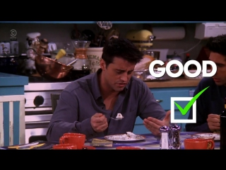 Comedy Central UK - Joey Vs Food - Friends Song