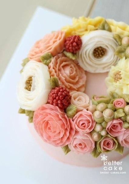 Рецепт крем для цветов