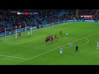 De Bruyne free-kick