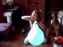 Alena - Inflate blue balloon too big