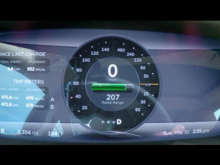 Head2Head 65 2015 Dodge Charger SRT Hellcat vs. 2015 Tesla Model S P85D [BMIRussian]