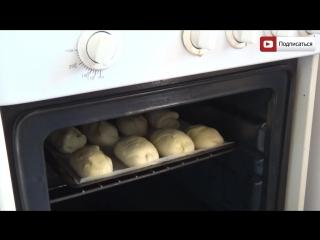 Пирожки с картошкой в духовке - видео рецепт