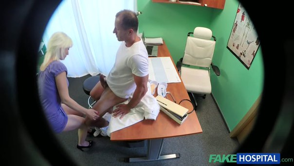 Fake Hospital E167 – Horny Blonde MILF Wants Doctors Cum Inside Her